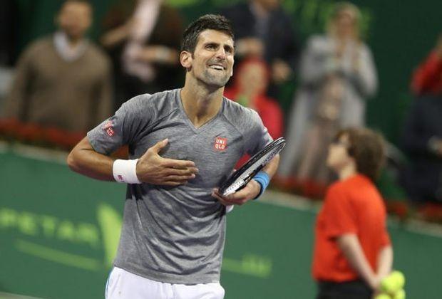 Tennis-Ass Novak Djokovic gewinnt das Turnier in Doha