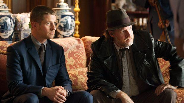 Kämpfen weiter gegen das Böse in Gotham: James Gordon (Ben McKenzie, l.) und...