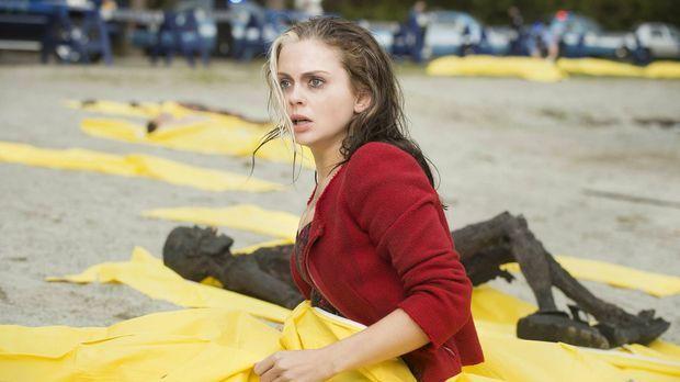 Nachdem sie gerade noch gesehen hat, wie eine Party von Zombies überrannt wur...