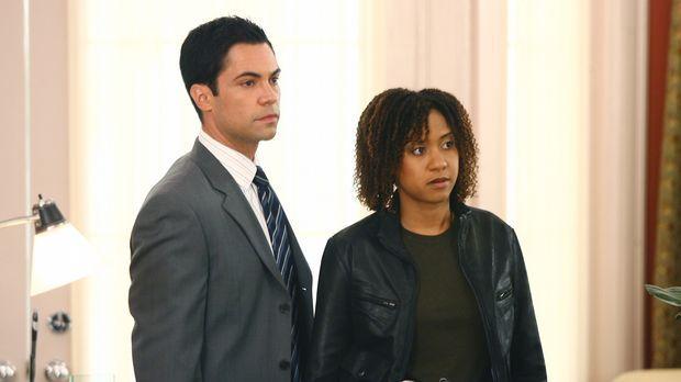 Arbeiten an einem neuen Fall: Kat (Tracie Thoms, r.) und Scott (Danny Pino, l...