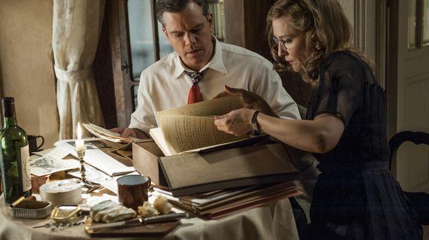 Als Kuratorin war Claire Simone (Cate Blanchett, r.) gezwungen, den Nazis bei...
