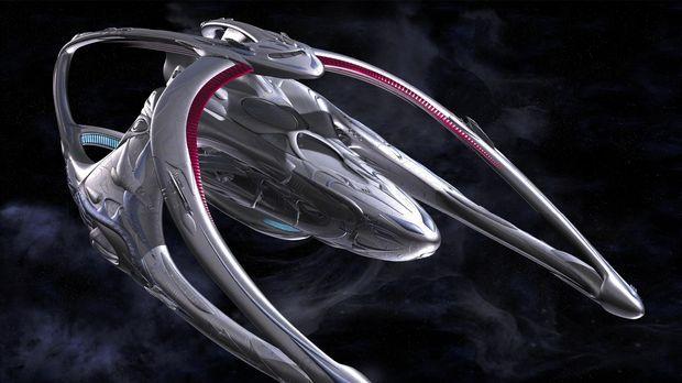 Die Andromeda Ascendant ist ein technisch sehr weit fortgeschrittenes Raumsch...