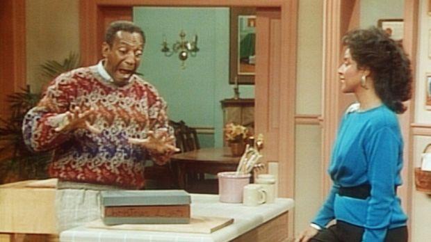 Endlich hat Cliff (Bill Cosby, l.) die Bohrmaschine gefunden, die seinem Freu...