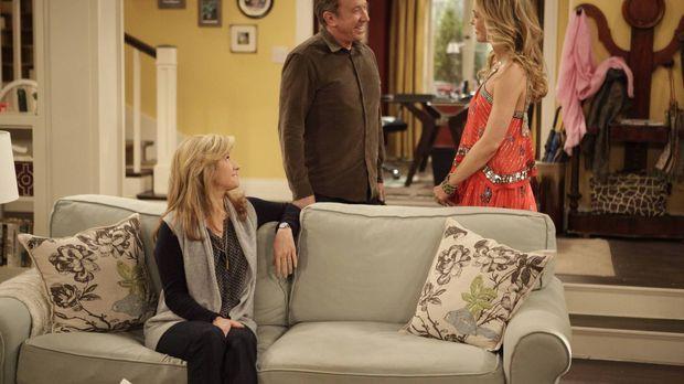 Noch freuen sich Vanessa (Nancy Travis, l.) und Mike (Tim Allen, M.) über den...