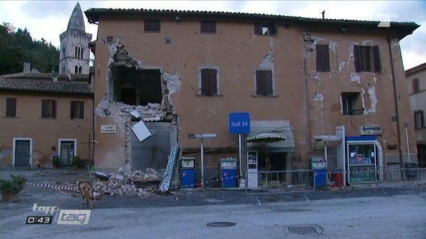 Taff - Taff - Taff Tag: Erdbeben Erschüttert Italien