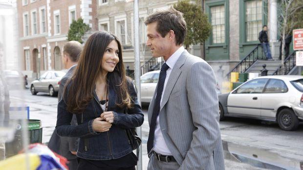 Kim (Vanessa Marcil, l.) und Martin Fitzgerald (Eric Close, r.) fühlen sich w...
