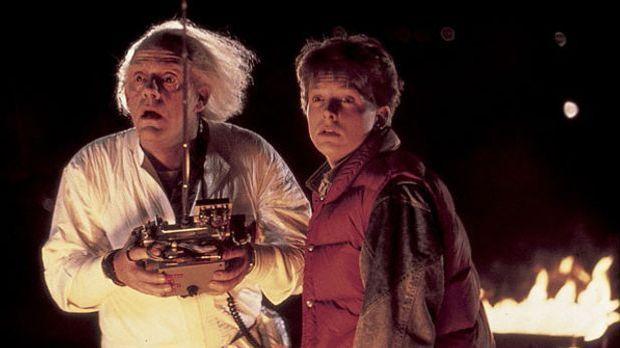 Marty und Doc in Zurück in die Zukunft