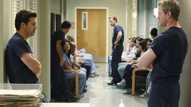 Ein Fehler lässt alle Mitarbeiter des Seattle Grace Hospital um ihren Job ban...