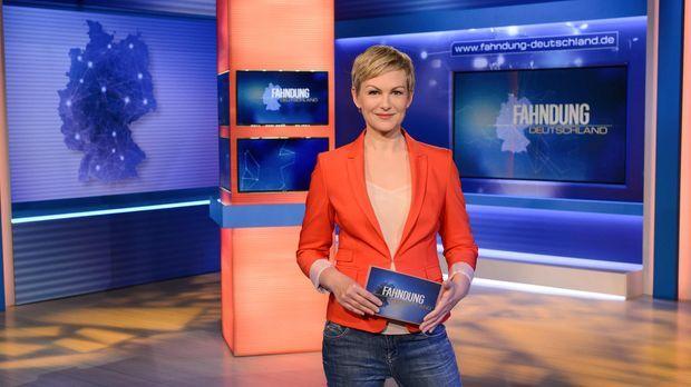Fahndung Deutschland - Moderatorin Karen Heinrichs © Claudius Pflug SAT.1
