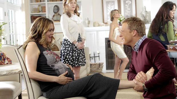 George und Eden (Alicia Silverstone, l.) sind davon überhaupt nicht begeister...