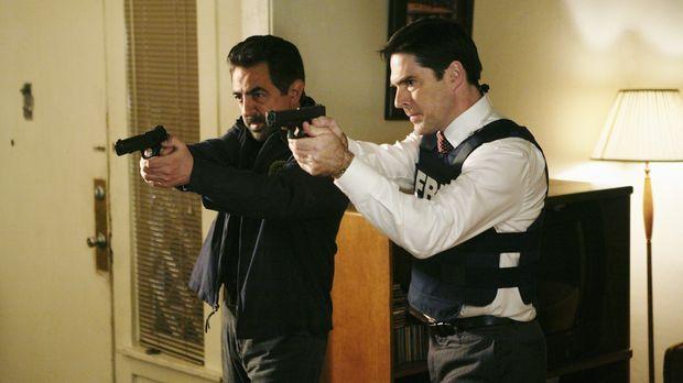 Ein neuer Fall beschäftigt Special Agent David Rossi (Joe Mantegna, l.), Spec...