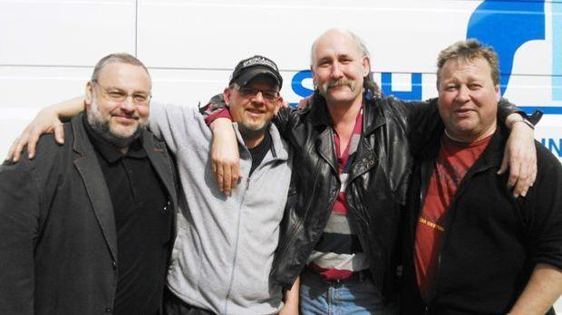 von links nach rechts: Gerd, Christoph, Rolf und Rüdiger