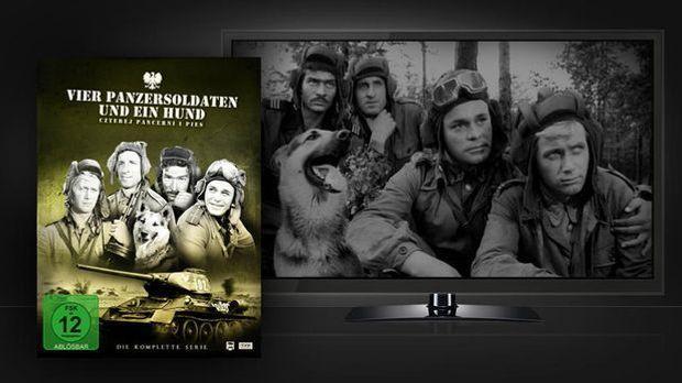 Vier Panzersoldaten und ein Hund - Szenenbild