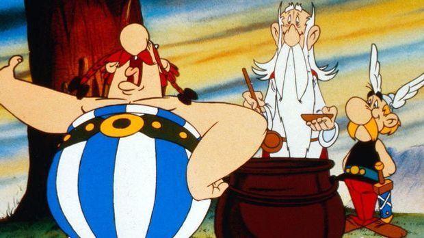 Asterix in Amerika, Asterix bei den Briten, Asterix - Sieg über Caesar