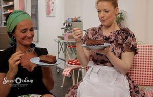 Das ist Sabine Huecks Schokoladen-Mousse-Torte aus Sweet & Easy