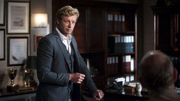 Ein neuer Fall wartet auf Patrick Jane (Simon Baker) ... © Warner Bros. Telev...