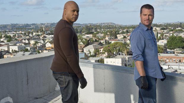 Ein neuer Fall wartet auf Callen (Chris O'Donnell, r.) und Sam (LL Cool J, l....