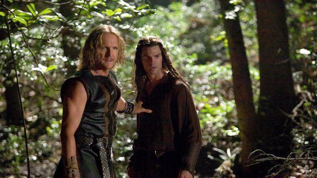 Elijah und sein Vater Mikael