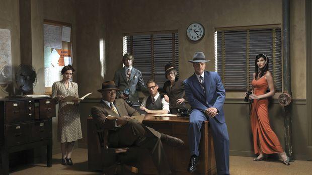 (3. Staffel) - Navy CIS: L.A.: Callen (Chris O'Donnell, 2.v.r.), Sam (LL Cool...
