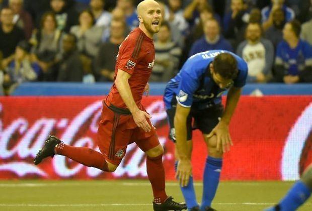 Bradley (l.) steht mit dem Toronto FC im FInale