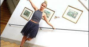 Ballerina_Glitzerkombi