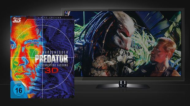 Predator Blu-Ray und Szenenbild