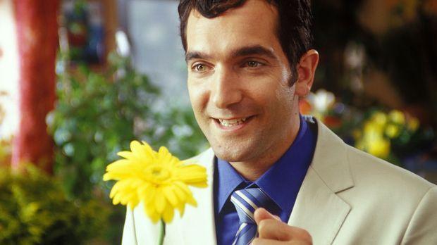 Sind Männer nicht süß? Überhaupt keine Ahnung von Blumen, aber wenn es darum...