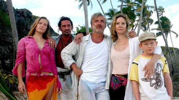 Die Pirateninsel - Familie über Bord - Aus dem geplanten Luxusurlaub einer vi...