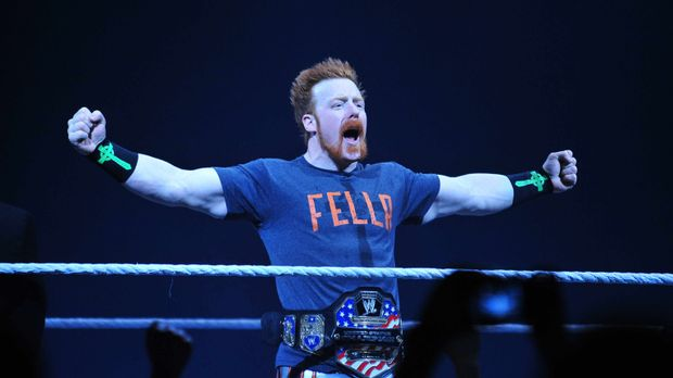 Sheamus ist ein moderner keltischer Krieger, der seinen Gegnern im Ring zeigt...