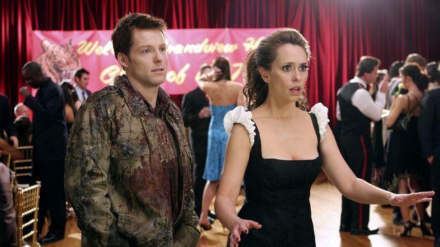 Kann Melinda (Jennifer Love Hewitt, r.) dem Geist von Bryan (Jamie Bamber, l....