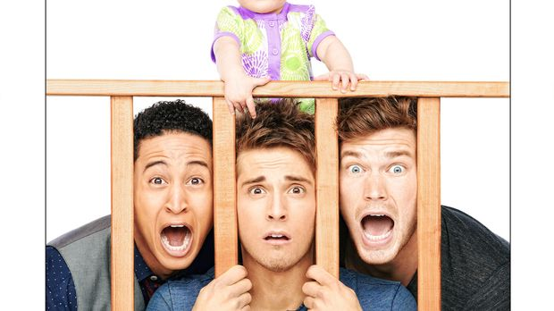 (2. Staffel) - Baby Daddy: Ben (Jean-Luc Bilodeau, M.), Danny (Derek Theler,...