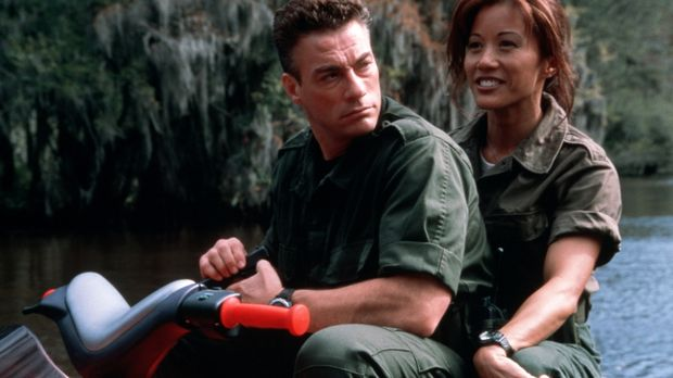 Ein Kampf auf Leben und Tod entbrennt zwischen Luc (Jean-Claude Van Damme, l....