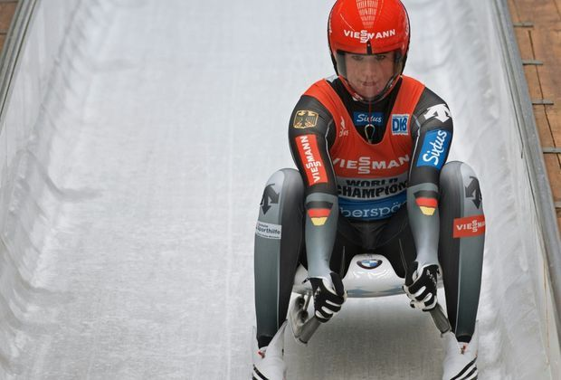 Natalie Geisenberger ist zum dritten Mal Europameisterin