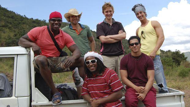 Zu Beginn ihrer Reise wagen sich die sechs Abenteurer nach Äthiopien zu dem i...