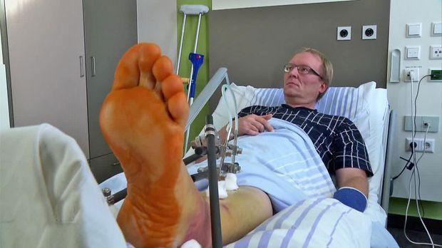 Achtung Notaufnahme! - Fieser Unterschenkelbruch Nach Unfall