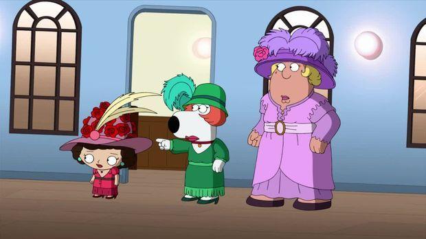 Family Guy - Family Guy - Staffel 14 Episode 8: Stewie, Chris Und Brians Verrückte Reise Durch Die Zeit